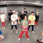 """Los integrantes de """"Running Man"""" entrenan en el estudio de baile 1MILLION con Lia Kim para fan meeting"""