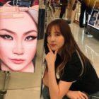 Sandara Park muestra orgullo por su amistad con CL luego de posar con su publicidad