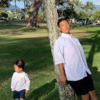 Gary disfruta del tiempo de relación padre-hijo y comparte adorables fotos