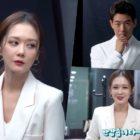 """Jang Nara y Lee Sang Yoon presentan personajes """"VIP"""" en el detrás de cámaras de la sesión de póster para el drama"""