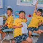 Los trillizos Song muestran su creatividad en una divertida actualización de Song Il Gook