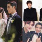 Celebridades se reúnen para celebrar el matrimonio de Kangnam y Lee Sang Hwa