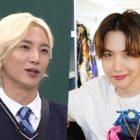 Leeteuk de Super Junior habla de su sorprendente conexión con J-Hope de BTS