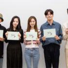 Jin Se Yeon, Kim Min Kyu, Lee Si Eon y más asisten a la primera lectura de guión para próximo drama de fantasía histórico