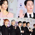 Estrellas brillan en la alfombra roja de los premios 2019 Korean Popular Culture & Arts Awards