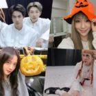 Ídolos coreanos celebran Halloween con fotos divertidas, disfraces espeluznantes y más