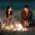 """Son Ye Jin y Hyun Bin se ponen románticos frente a una fogata en el póster de """"Crash Landing On You"""""""