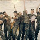 Ídolos alistados de SHINee, EXO, INFINITE, BTOB, 2AM, y más están llenos de energía en nueva canción del ejército