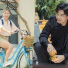 """Ha Ji Won y Yoon Kye Sang se divierten tras las cámaras en Grecia para el nuevo drama """"Chocolate"""""""