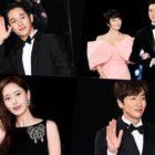 Las estrellas iluminan la alfombra roja en los 40th Blue Dragon Film Awards