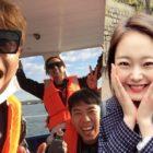 """Los miembros de """"Running Man"""" sorprenden a Jun So Min con un considerado regalo"""