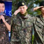 Estrellas que tuvieron gran éxito inmediatamente después de su regreso del ejército este año