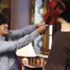 "Yoon Shi Yoon se enfrenta a un maniquí en ""Psychopath Diary"""