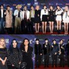 Estrellas impresionan en la alfombra roja en los Mnet Asian Music Awards 2019