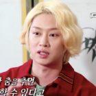 Kim Heechul de Super Junior habla  sobre su lesión de pierna y de la preocupación por su futuro