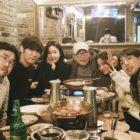 """Choi Jin Hyuk, Nana, Son Hyun Joo y más del elenco de """"Justice"""" tienen una adorable reunión"""