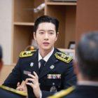 Park Hae Jin recibe ascenso a jefe de bomberos honorario