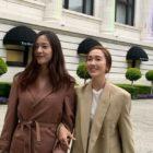 Krystal comparte imágenes divertidas junto a Jessica mientras luchan por tomarse una foto juntas