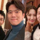 Im Siwan y Ha Seok Jin muestran su amistad en fotos de la boda de Claudia Kim