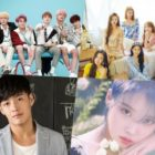 "Ganadores de los ""2020 Korea First Brand Awards"""