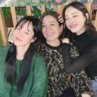 """Las co-estrellas de """"Search: WWW"""" Im Soo Jung, Jeon Hye Jin y Lee Da Hee disfrutan de una reunión + Muestran su apoyo por """"Ashfall"""""""