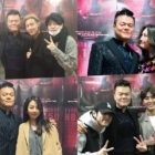 Los antiguos y actuales artistas de JYP muestran su apoyo a Park Jin Young en su concierto en Seúl