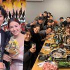 """El elenco de """"The Fiery Priest"""" celebra su éxito en los 2019 SBS Drama Awards"""