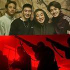 "Park Jung Min, Lee Je Hoon, Lee Jae Hong y Choi Woo Shik se preparan en un póster de suspense para ""Ready To Hunt"""