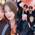 Chorong y Bomi de Apink muestran apoyo por VICTON en su primer concierto en solitario