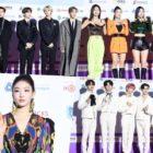 Estrellas brillan en la alfombra roja de los 9th Gaon Chart Music Awards