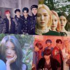 EXO, Red Velvet, IU, BTS y más suben a lo más alto de la lista semanal y mensual de Gaon