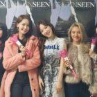 Las miembros de Girls' Generation animan a Taeyeon en su concierto