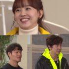 Kim Jong Kook y Lee Kwang Soo intentan ganar el corazón de Kang Han Na actuando de forma linda