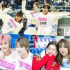 """""""2020 Idol Star Athletics Championships"""" revela nuevas fotos y clips que provocan una feroz competencia"""
