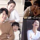 Kim Tae Hee, Lee Kyu Hyung y Seo Woo Jin son la familia más linda detrás de las escenas de próximo drama