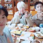 """Las co-estrellas de """"Love With Flaws"""", Ahn Jae Hyun, Goo Won y Min Woo Hyuk, celebran juntos el Año Nuevo Lunar"""