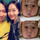 HaHa comparte dulce foto de su hija
