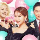 Heechul de Super Junior, Yoo In Na y Shin Dong Yup son glamorosos en pósters para programa de variedades sobre el amor