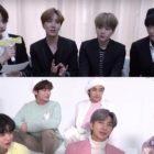 BTS, TXT y Lee Hyun se muestran cercanos en el detrás de las escenas de la sesión fotográfica familiar de Big Hit