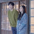 "Seo Kang Joon y Park Min Young comparten un momento tranquilo en póster central de ""I'll Go To You When The Weather Is Nice"""