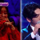 """Yoon Bomi de Apink se sorprende y llora cuando su hermano canta en """"I Can See Your Voice"""""""
