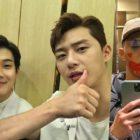 Park Seo Joon revela que su perro no pudo reconocerlo con maquillaje de payaso + Choi Woo Shik y Park Hyung Sik responden divertidamente