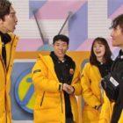 "Lee Kwang Soo y Kim Jong Kook se enfrentan en una salvaje pelea con agua en ""Running Man"""