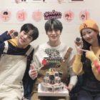 Jaehyun de NCT agradece a Minhyuk de MONSTA X y Naeun de APRIL por fiesta de cumpleaños