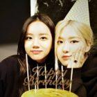 Hyeri de Girl's Day comparte lindas fotos de la fiesta de cumpleaños de Rosé de BLACKPINK