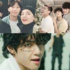 """Park Seo Joon, Park Hyung Sik, Choi Woo Shik y Peakboy reaccionan a V de BTS en el nuevo MV """"ON"""""""