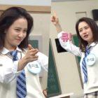 """Song Ji Hyo baila """"Gashina"""" de Sunmi + muestra su lado competitivo en adelanto de """"Ask Us Anything"""""""