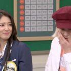 Park Shin Hye demuestra cómo los actores se golpean falsamente ante la cámara con Heechul de Super Junior
