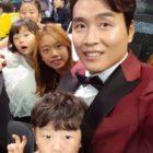Lee Dong Gook comparte la creativa manera de mantener a sus hijos entretenidos dentro de casa