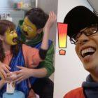 """Jun So Min y Yang Se Chan no se detendrán ante nada para ganar el desafío de """"intenta no reír"""" en """"Running Man"""""""